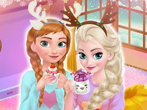 Frozen Sister'S Cozy Time game