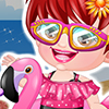 Baby Hazel Swimmer Dress game