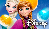 Frozen Elsa: Bubble Shooter game