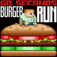 60S Burger Run game