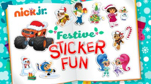 play Nick Jr. Festive Sticker Fun