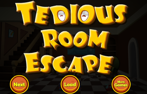 Tedious Room Escape game