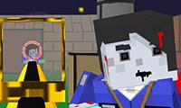 Zumbie Blocky Land game