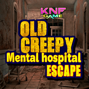 Old Creepy Mental Hospital Escape game