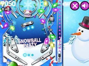 play Pinball Party Winter Edition