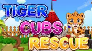 Tiger Cubs Rescue Escape game