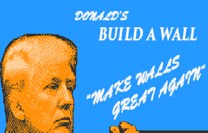 Donald'S Build A Wall game