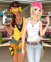 Mechanic Dress Up game