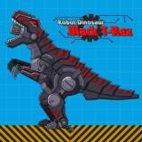 Robot Dinosaur Black T-Rex game
