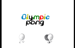 Olympic Pong game