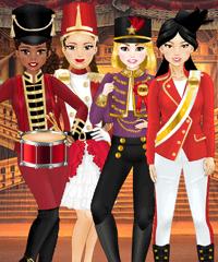 Team Nutcracker Dress Up game