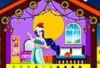play Princess Christmas Doll House