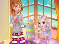 play Frozen Sisters - Cozy Time