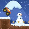 Monster Truck Winter Jumps game