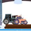 Christmas Tractor Racing game