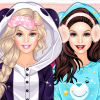 play Barbie Winter Pj Party