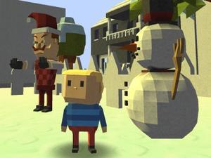play Kogama: Hello Neighbor Christmas Edition!