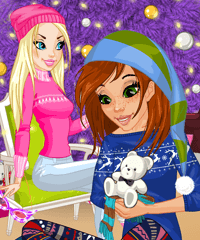 play Christmas Gift Little Pony Dress Up Game