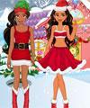 play Elena And Moana Christmas Shopping