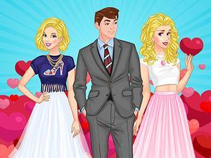 play Princesses Boyfriend Rivals