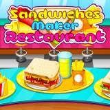 play Sandwiches Maker Restaurant