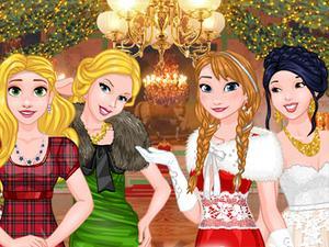 play Princess Grand Christmas Ball