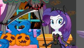 Equestria Girls Halloween Makeover game