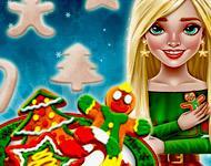 play Princess Christmas Cookies