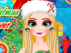 play Glitter Christmas Elf Makeover