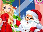 play Santa S Daughter Home Alone