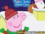 Peppas Santa Dental Care game