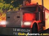 18 Wheeler Fire Truck game