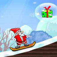 play Super Santa Skiing