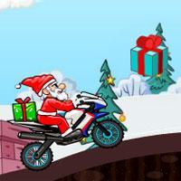 play Santa Bike Racing
