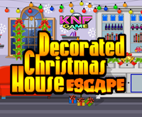 play Decorated Christmas House Escape