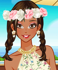 play South Hemisphere Vacation Dress Up Game
