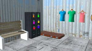 play Container Flat Escape 6