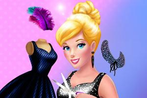 play Cinderella Little Black Dress Girl