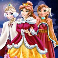 Disney Princesses Holiday game