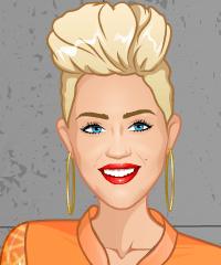 play Miley Cyrus Fashion Studio Game