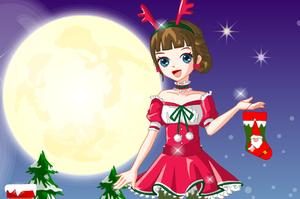 play Lovely Christmas Girl