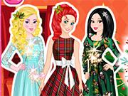 play Princess Christmas Photo