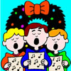 play Christmas Songs Coloring