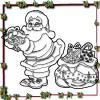 play Christmas Santa Coloring