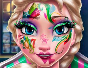 play Elsa New Year Makeup