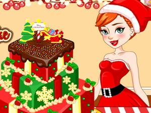 play Anna Christmas Cake Contest