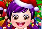 play Baby Hazel Christmas Day Dressup
