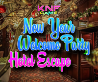 play New Year Welcome Party Hotel Escape