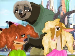 play Zootopia Hair Salon