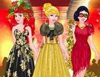 play Princesses New Year Fashion Show